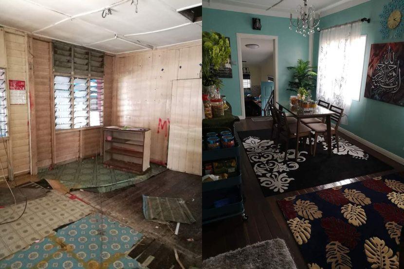 Rumah Pusaka Lama Ditinggalkan Kini Berubah Wajah Semua Ini Jadi Realiti Kerana Hasrat Ibu Mentua Viral Mstar