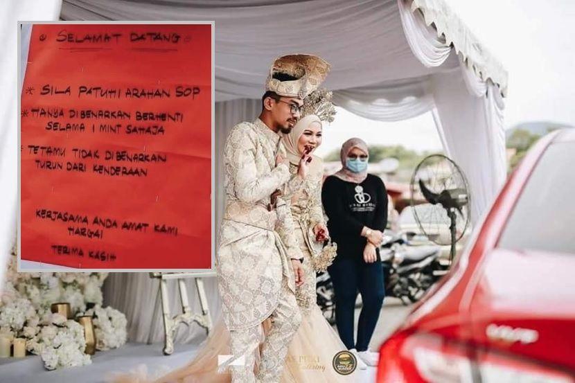 Tetamu Teruja Majlis Meriah Pengantin Perempuan Dedah Terpaksa Berendam Air Mata Nak Kahwin Drive Thru Viral Mstar