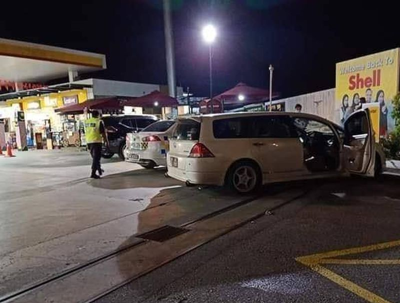Kondisi mobil tempat tiga mahasiswi meninggal dunia