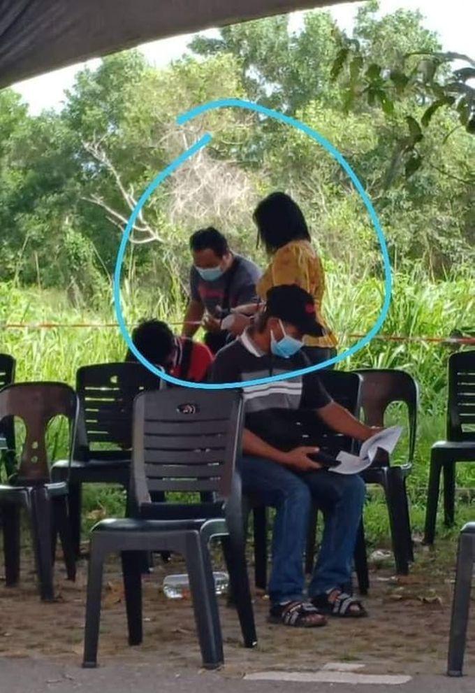 foto vaksin tepi pokok 2