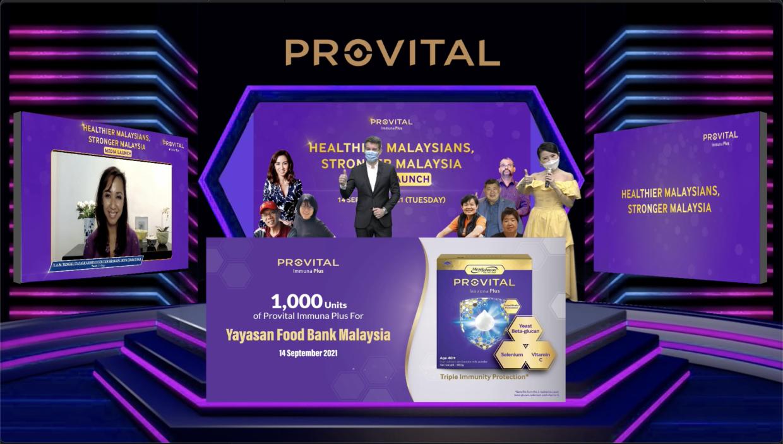Contribution of PROVITAL Immuna Plus to Yayasan Food Bank