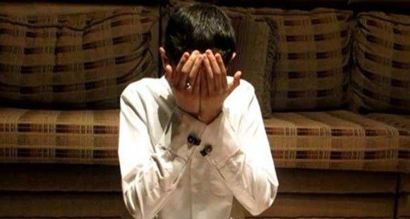 Sapu muka selepas berdoa.